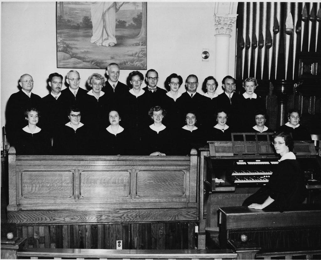 The 1950s choir