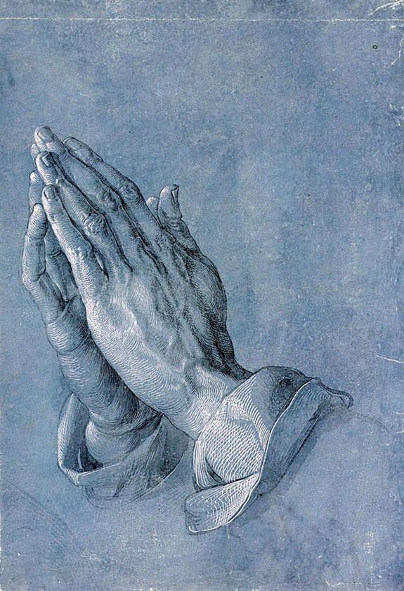 Albrecht Dürer's praying hands